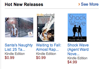 Shock Wave Makes Amazon's Hot New Release!