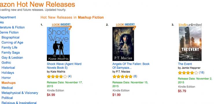 Shock Wave Hits Amazon!